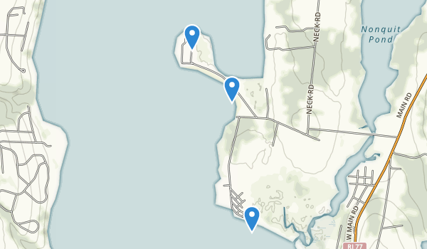 Fogland Beach Conservation Area Map
