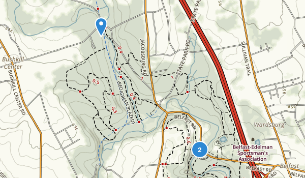 Jacobsburg State Park Map