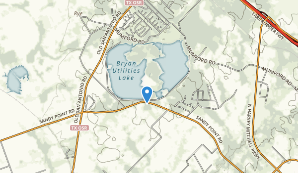 trail locations for Lake Bryan Park