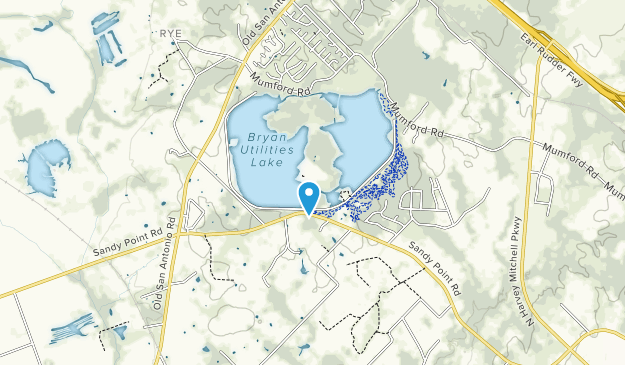 Parque del lago Bryan Map