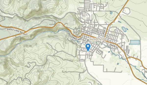 trail locations for Susanvile Ranch Park