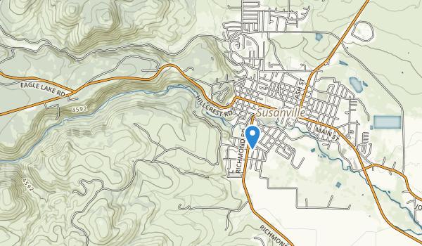 Susanvile Ranch Park Map