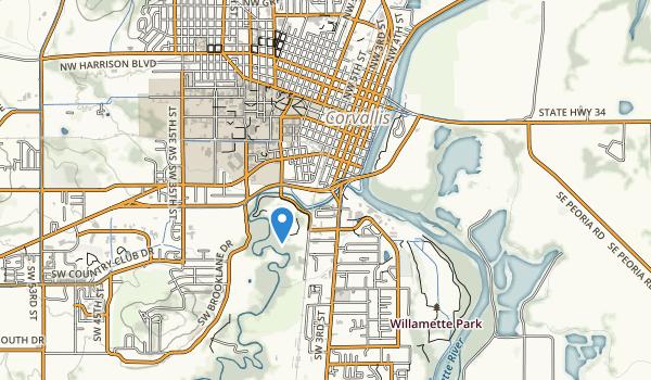 Avery Park Map
