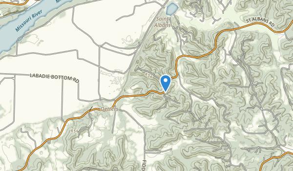 Engelmann Woods Natural Area Map