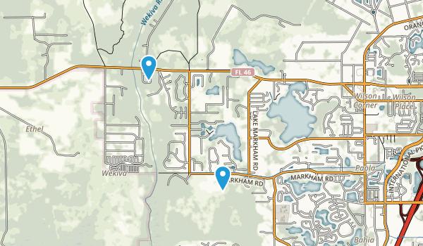 Sylvan Lake Park Map