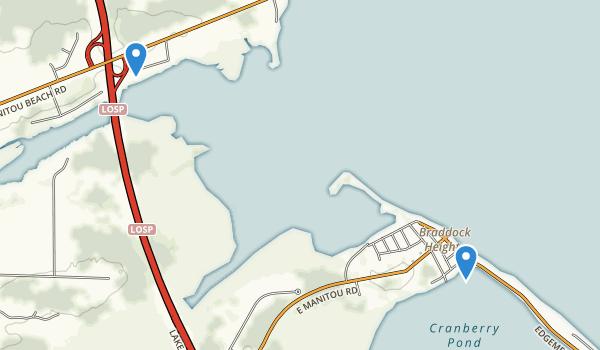 Braddock Bay State Park Map
