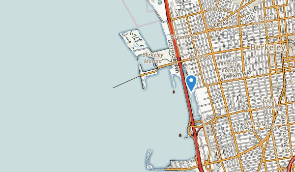trail locations for Cesar E  Chavez Park