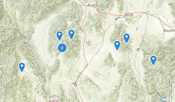Beaverhead National Forest Map
