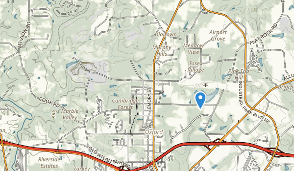 City Pond Park Map
