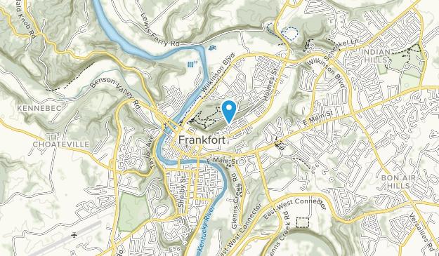 Parque Leslie Morris en Fort Hill Map