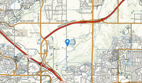 Carolyn Holmberg Preserve Map