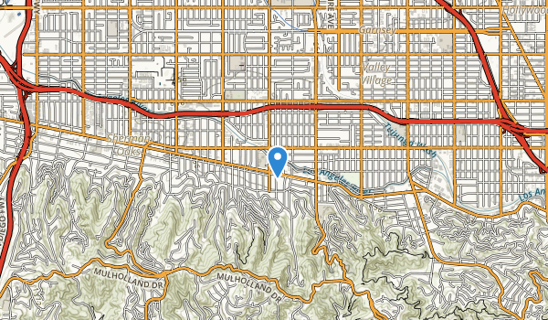 trail locations for Longridge Park