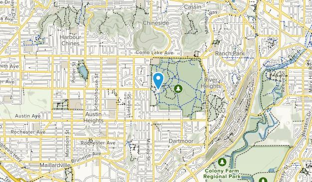 Mundy Park Map