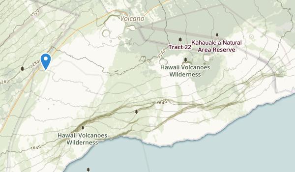 Hawaii National Park Map
