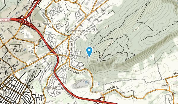 Spring Creek Park Map