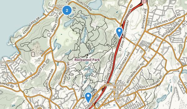 Rockwood Park Map