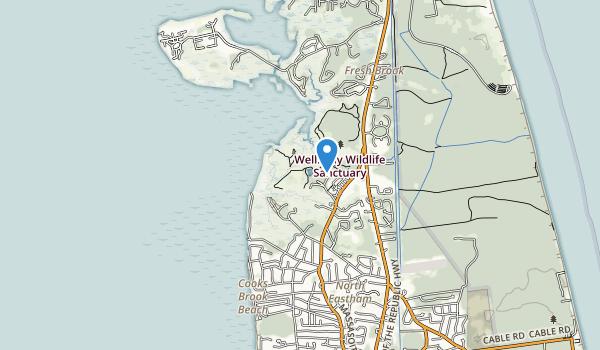 trail locations for Sunken Meadow