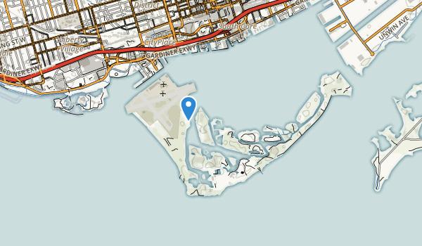 Toronto Island Park Map