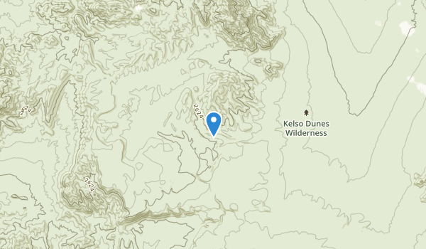 trail locations for Keiso Dunes Wilderness Area