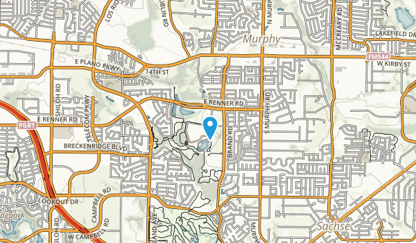 Breckenridge Park Map