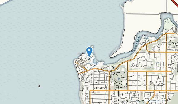 Crescent Beach Map