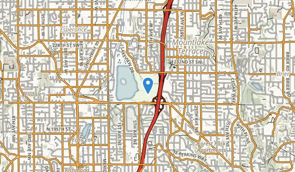 Terrace Creek Park Map