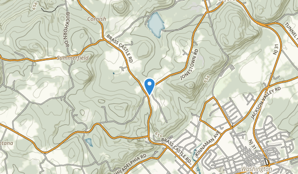 trail locations for Oxford Furnace Park