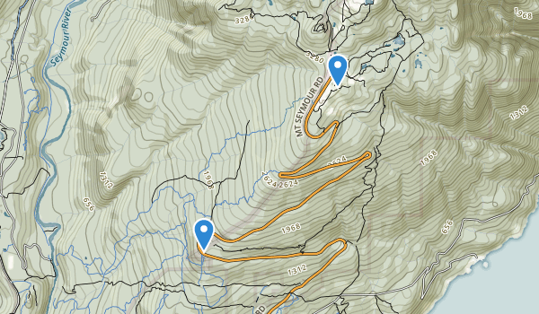 trail locations for Mount Seymour Provincial Park
