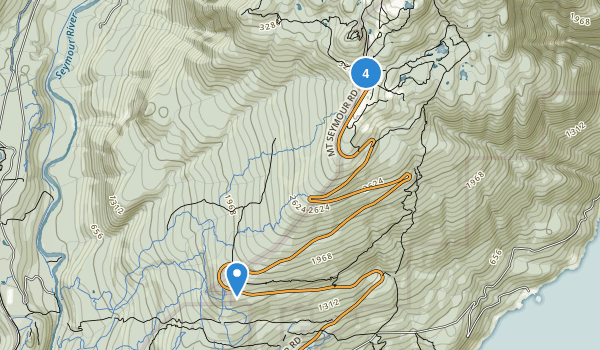 Mount Seymour Provincial Park Map