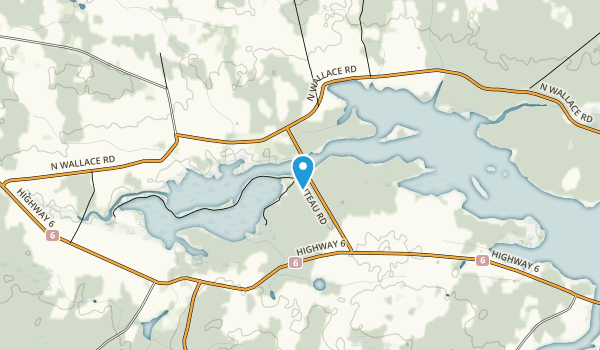 Wallace Bay National Wildlife Area Map