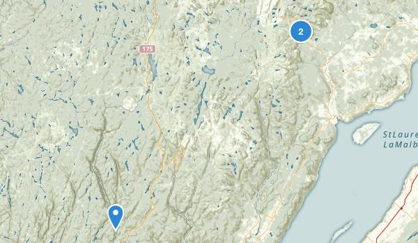 Parc Nationnal Des Grands Jardins Map