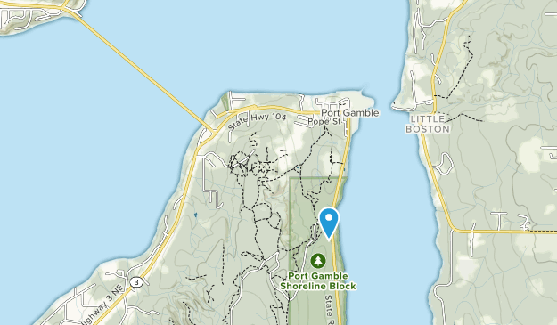 Salsbury Point County Park Map