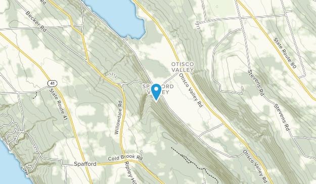 Condado de Spafford Forest Map