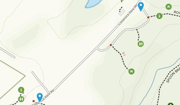 Parque Cedarock Map