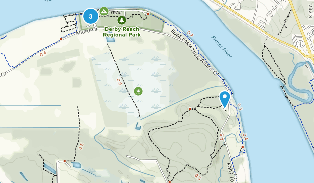 Derby Reach Regional Park Map