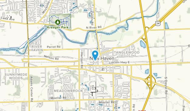 Kreager Park Map