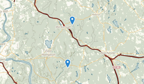 Salmon River State Forest Map