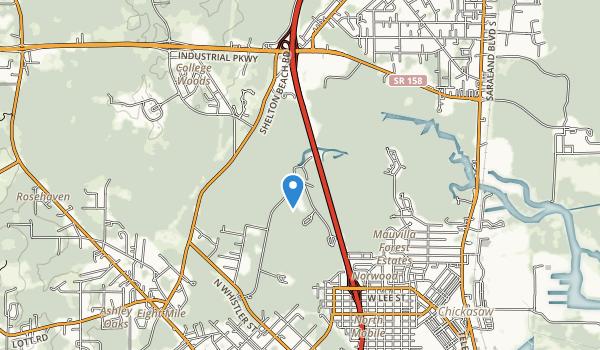 Chickasabogue Park Map