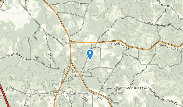 Confederate Memorial Park Map