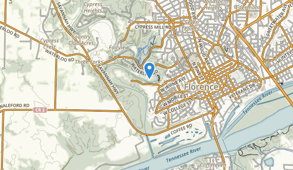 Florence Municipal Park Map