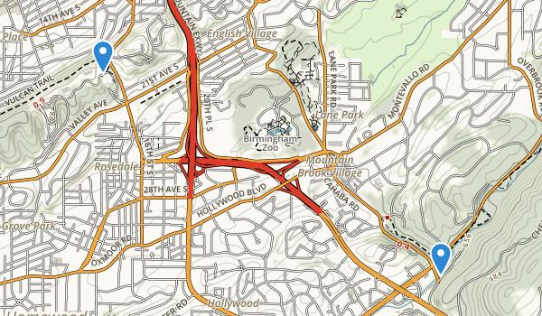 Lane Park Map