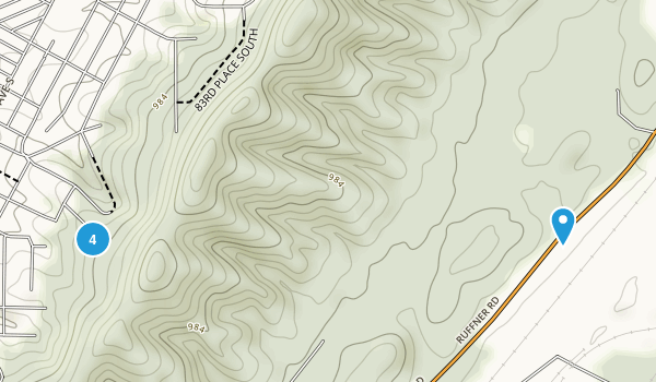 Ruffner Mountain Nature Center Map