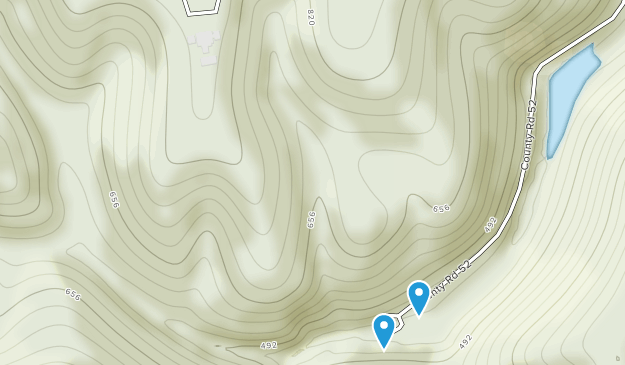 Blanchard Springs Recreation Area Map