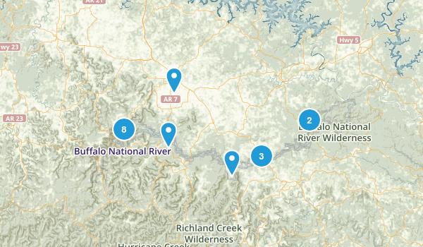Buffalo National River Map