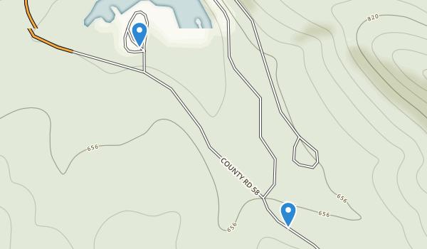 Lake Sylvia Recreation Area Map