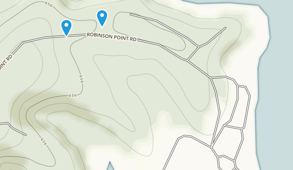 Robinson Point Use Area Map