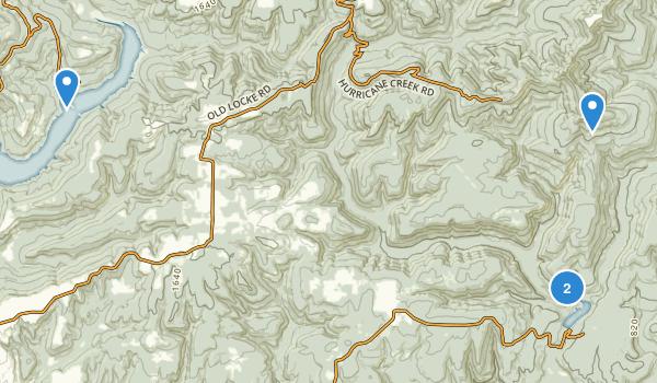 White Rock Mountain Recreation Area Map