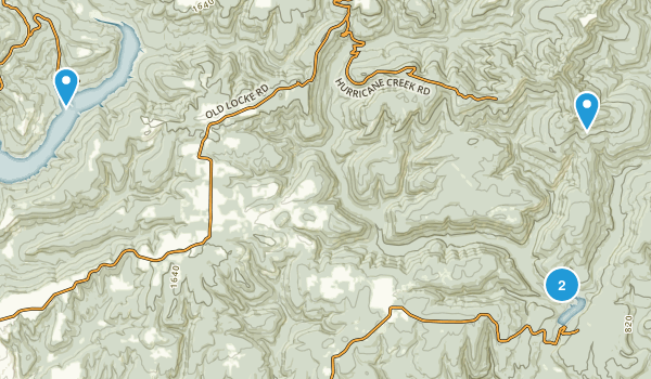 White Rock Mountain Recreation Area Map