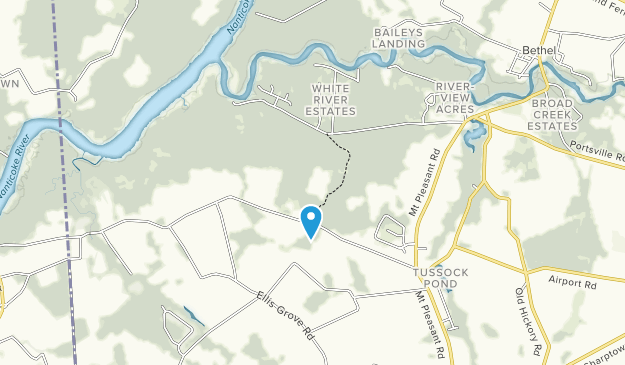 Nanticoke Park Wildlife Area Map