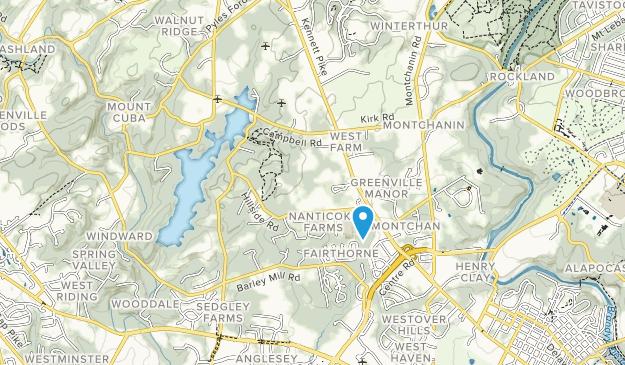 Valley Garden Park Map